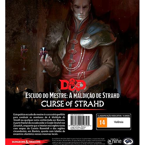 D&D 5ª Ed. - A Maldição de Strahd Escudo do Mestre