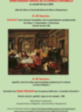 affiche concert Cantabella Roquemaure Wi