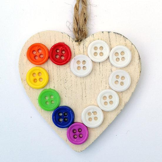 pure rainbow hearts kit