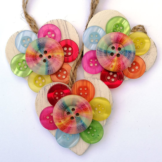 flowers on hearts kit