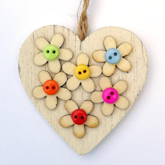 little flowers on hearts kit