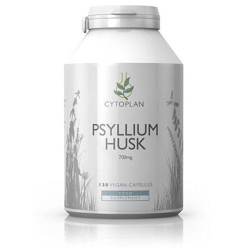 Psyllium Husk 120 capsules (Cytoplan)