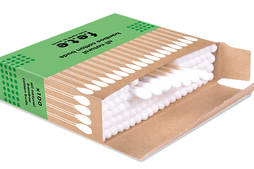 All Natural Bamboo Cotton Buds 100's