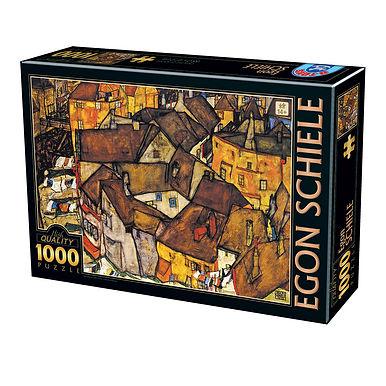 Egon Schiele - Crescent of Houses - 1000 Pieces