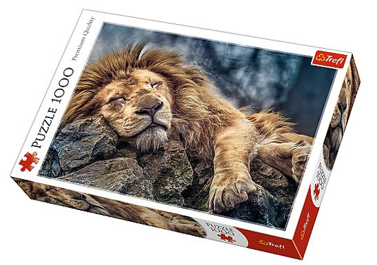 Sleeping Lion 1000 Pieces