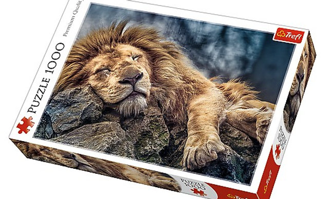 Sleeping Lion 1000 Pieces