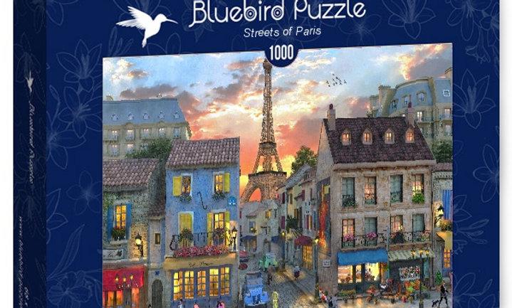 Streets of Paris 1000 Pieces
