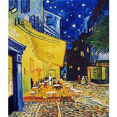 Van Gogh : Cafe Terrace at Night - 1000 Pieces