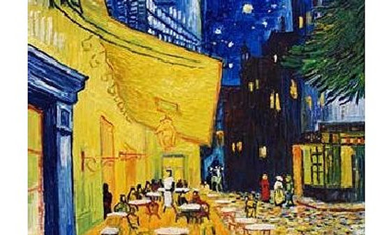 Van Gogh : Cafe Terrace at Night - 1000 Pieces
