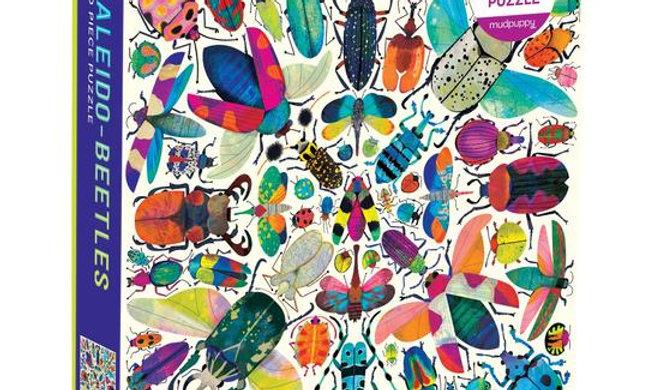 Kaleido-Beetles 500 Pieces