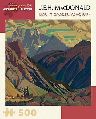 J.E.H. MacDonald - Mount Goodsir, Yoho Park