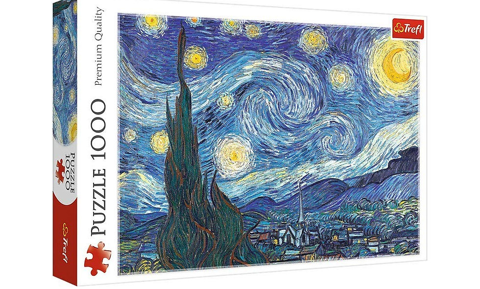 Vincent Van Gogh - The Starry Night 1000 Pieces