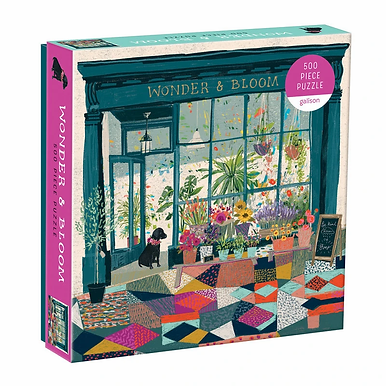 Wonder and Bloom -  500 Pieces
