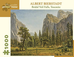 Albert Bierstadt: Bridal Veil Falls, Yosemite 1000-Piece