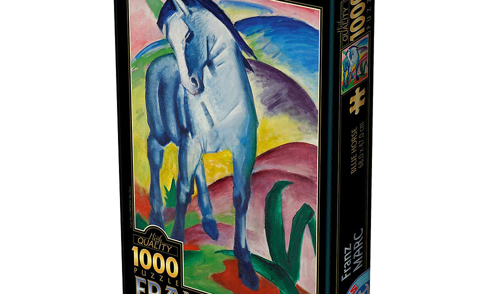 Marc Franz: Blue Horse 1000 Pieces