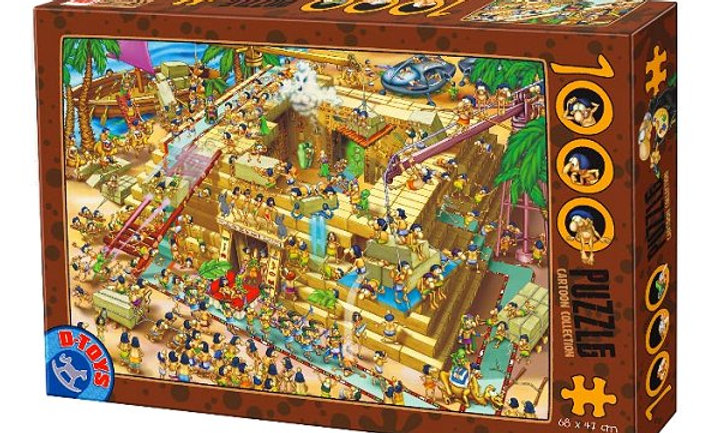 Cartoon Collection: Pyramids in Egypt