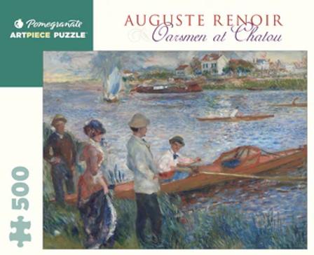 Auguste Renoir - Oarsmen at Chatou