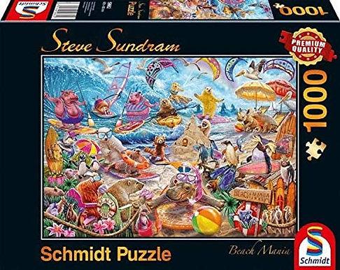 Beach Mania Steve Sundram - 1000 Pieces