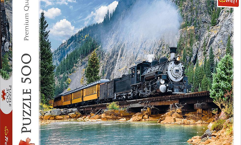 Mountain Train 500 Pieces