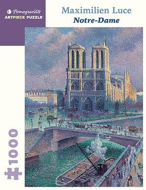 Maximilien Luce: Notre-Dame 1000-Piece
