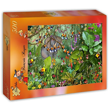 Francois Ruyer - Jungle 500 Pieces