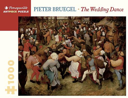Pieter Bruegel: The Wedding Dance 1000-Piece