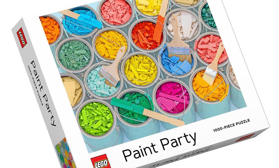 Lego Paint Party - 1000 Pieces