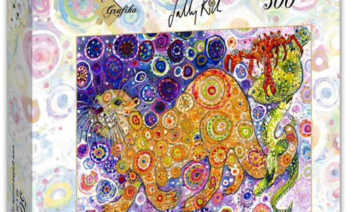 Sally Rich - Otters Catch 500 Pieces