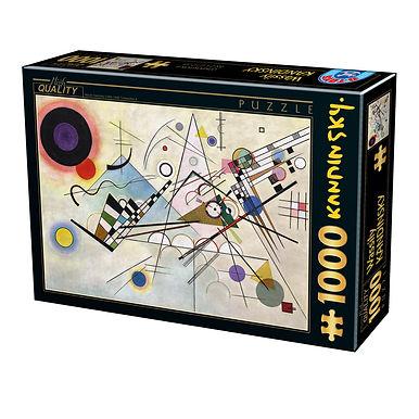 Vassily Kandinsky - Composition 8- 1000 Pieces