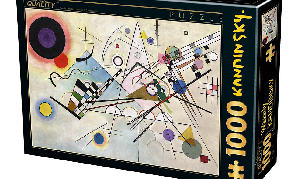 Vassily Kandinsky - Composition 8- 1000 Pieces