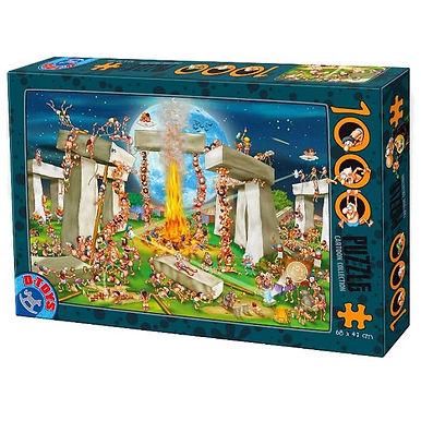 Cartoon Collection Stone Henge - 1000 pieces