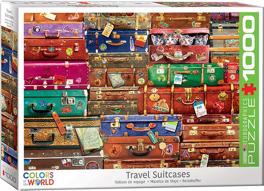 Travel Suitcases - 1000 Pieces