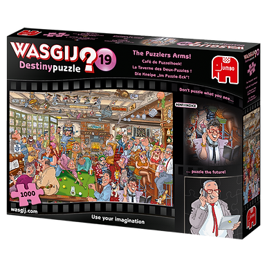 Wasjig Destiny 19 The Puzzlers Arms - 1000 Pieces