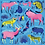 Thumbnail: Mammals With Mohawks - 500 Pieces