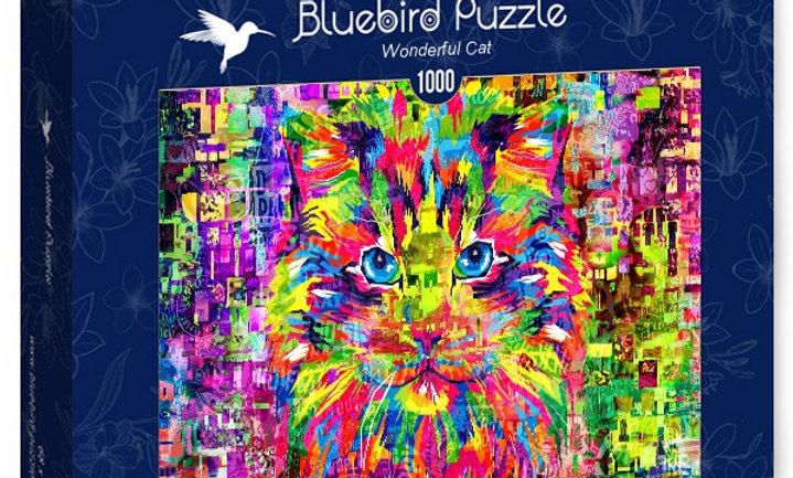 Wonderful Cat 1000 Pieces