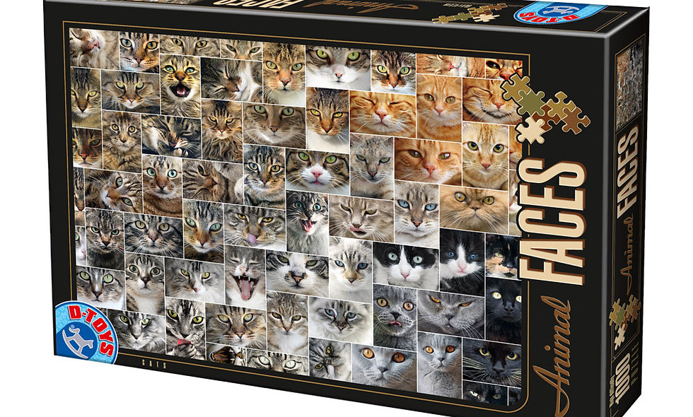 Animal Faces - Cats