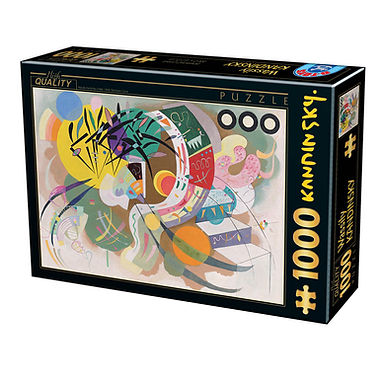 Vassily Kandinsky - Dominant Curve- 1000 Pieces