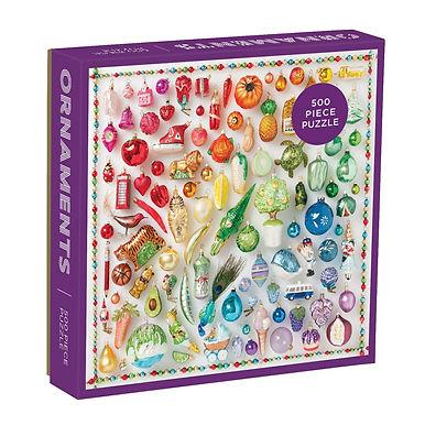 Rainbow Ornaments-  500 Pieces
