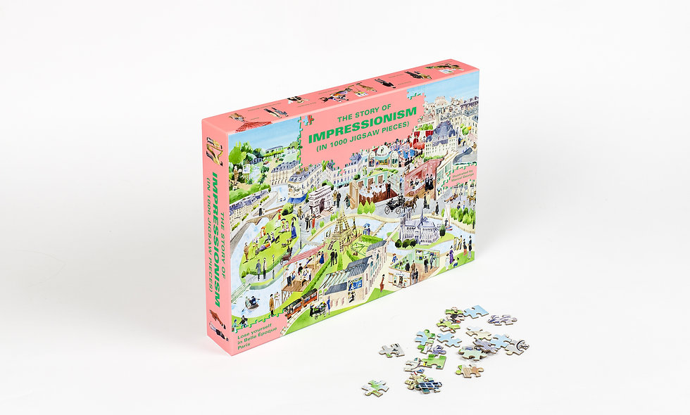 The Story of Impressionism - 1000 Pieces