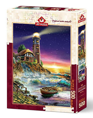 The Lighthouse - 500 Pieces