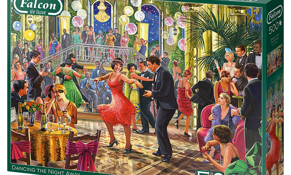 Dancing the Night Away - 500 Pieces