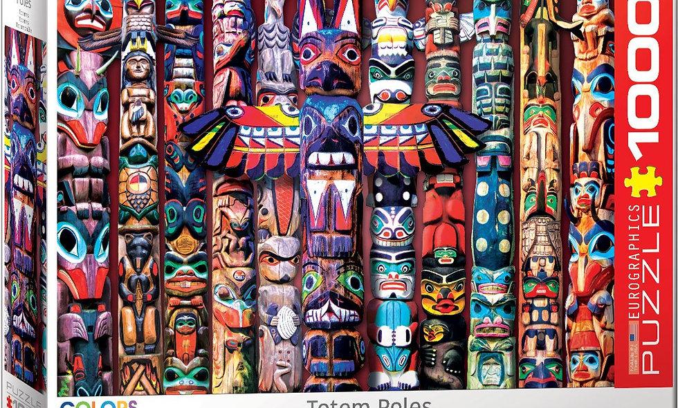 Totem Poles - 1000 Pieces