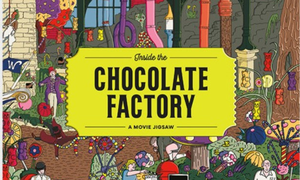 Inside the Chocolate Factory - 1000 Pieces