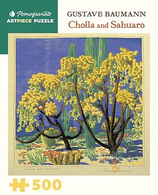 Gustave Baumann - Cholla and Sahuaro