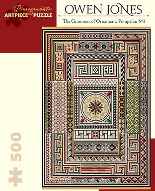 Owen Jones - The Grammar of Ornament: Pompeian No. 3