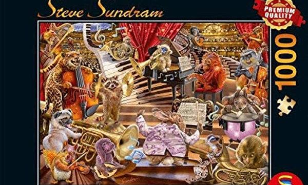 Music Mania Steve Sundram - 1000 Pieces