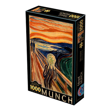 Munch Edvard: The Scream - 1000 Pieces