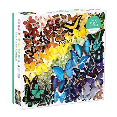 Rainbow Butterflies-  500 Pieces