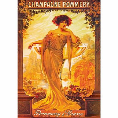 Vintage Posters - Champagne Pommery