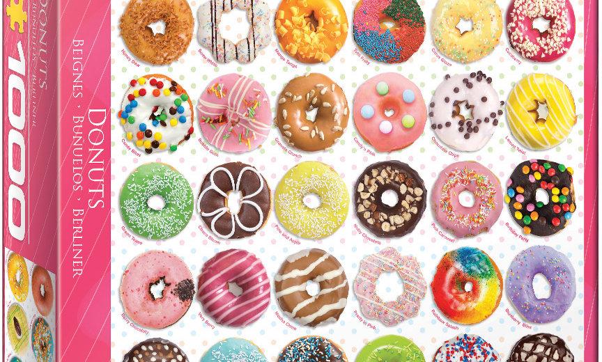 Doughnuts - 1000 Pieces